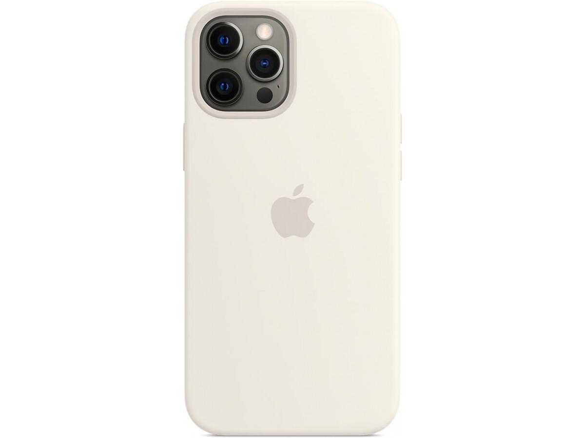 Чехол Silicone Case magsafe качество Lux для iPhone 12 Pro Max белый в Тюмени