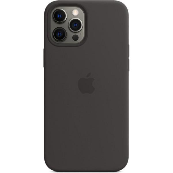 Чехол Silicone Case magsafe качество Lux для iPhone 12 Pro Max черный