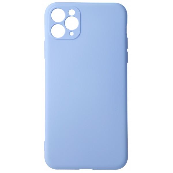 Чехол Soft-Touch для iPhone 11 Pro Max светло-голубой