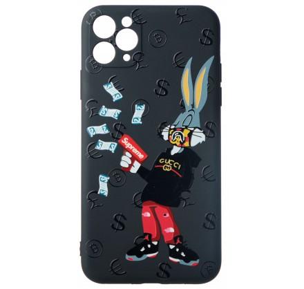 Чехол Fashn Roger для iPhone 11 Pro Max с принтом силик...