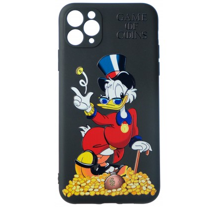 Чехол Fashn Donald Coins для iPhone 11 Pro Max с принто...
