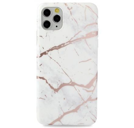Чехол Golden мрамор для iPhone 11 Pro Max силиконовый б...