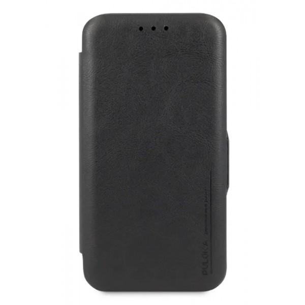 Чехол-книжка Puloka для iPhone 11 Pro Max на магните черная