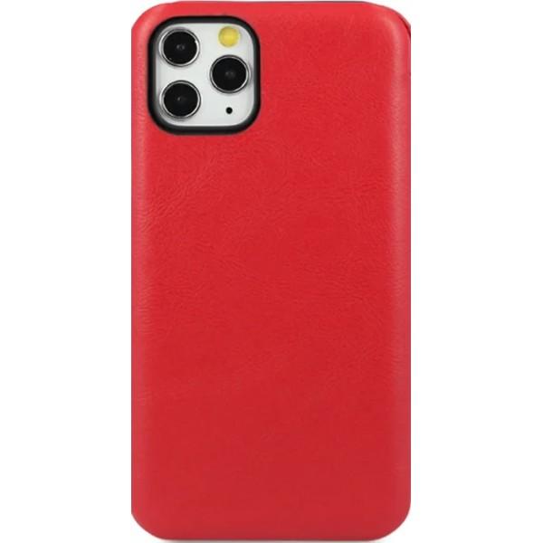 Чехол-книжка Puloka для iPhone 11 Pro Max на магните красная