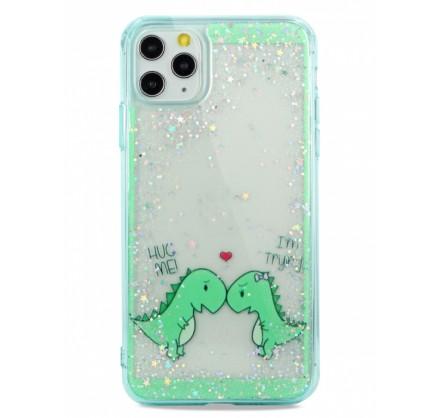 Чехол Love Dino для iPhone 11 Pro Max с принтом