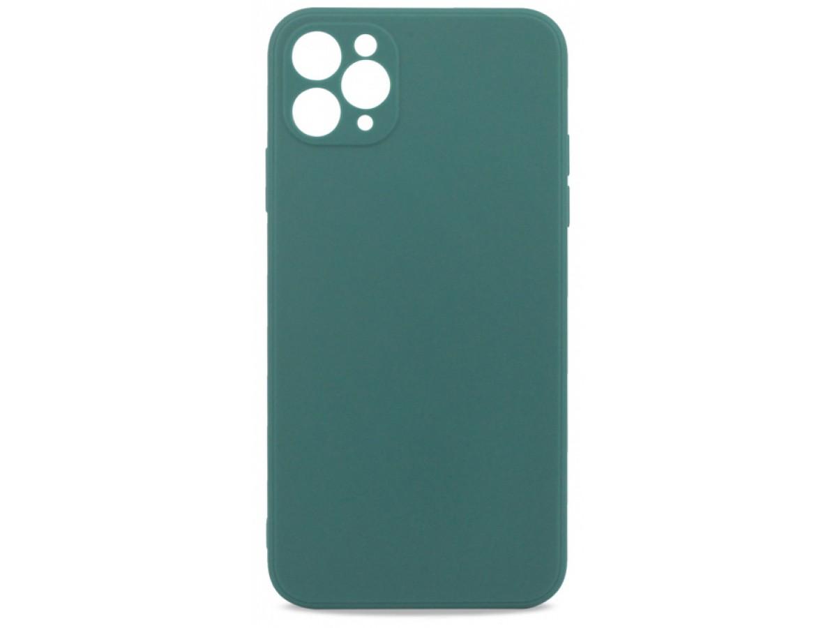 Чехол матовый Safe Camera для iPhone 11 Pro Max силиконовый зеленый в Тюмени