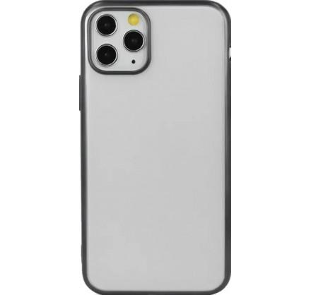 Чехол snazzy хром для iPhone 11 Pro Max матовый черный