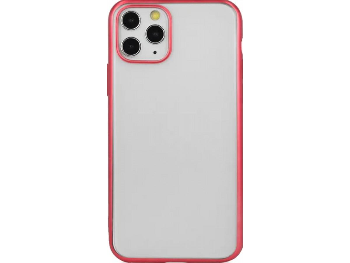 Чехол snazzy хром для iPhone 11 Pro Max матовый красный в Тюмени