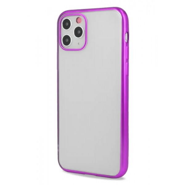 Чехол snazzy хром для iPhone 11 Pro Max матовый пурпурный