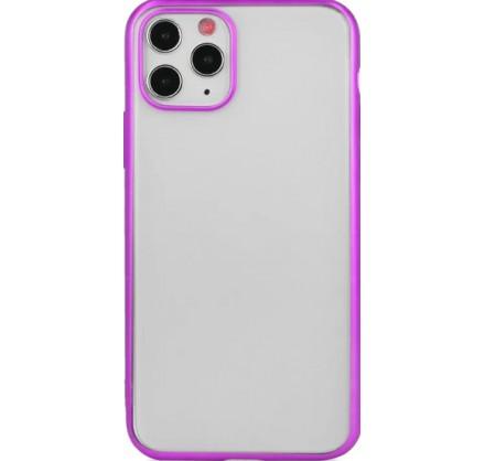 Чехол snazzy хром для iPhone 11 Pro Max матовый пурпурн...
