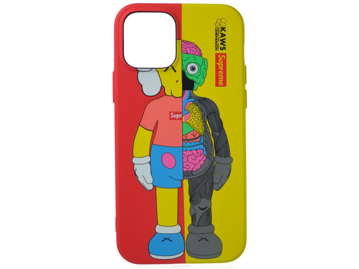 Чехол Luxo Toys для iPhone 12/12 Pro с принтом силиконовый (2) в Тюмени
