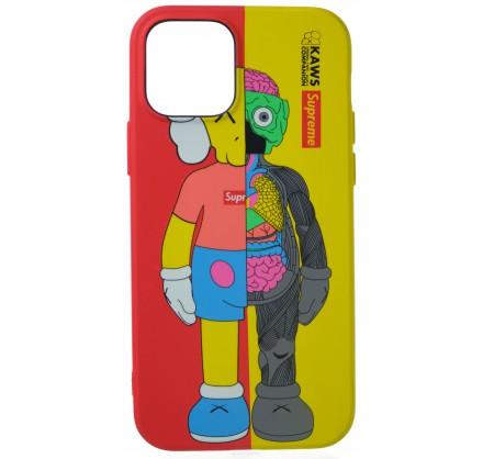 Чехол Luxo Toys для iPhone 12/12 Pro с принтом силиконо...
