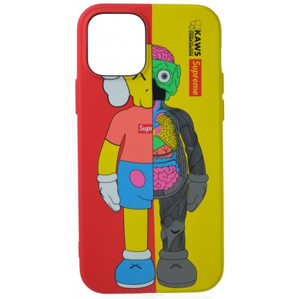 Чехол Luxo Toys для iPhone 12/12 Pro с принтом силиконовый (2)