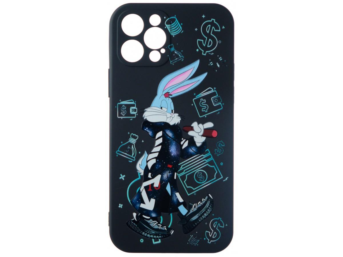 Чехол Fashn Roger Dollar для iPhone 12 Pro с принтом силиконовый в Тюмени