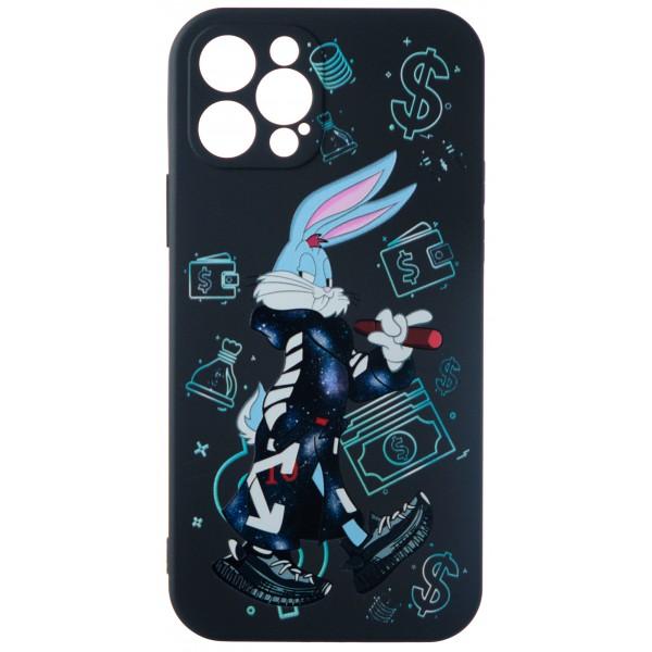 Чехол Fashn Roger Dollar для iPhone 12 Pro с принтом силиконовый