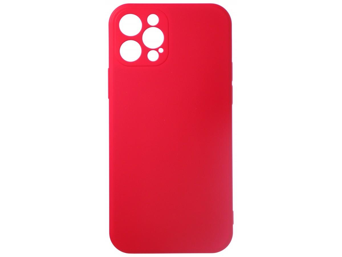 Чехол Soft-Touch для iPhone 12 Pro красный в Тюмени