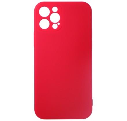 Чехол Soft-Touch для iPhone 12 Pro красный