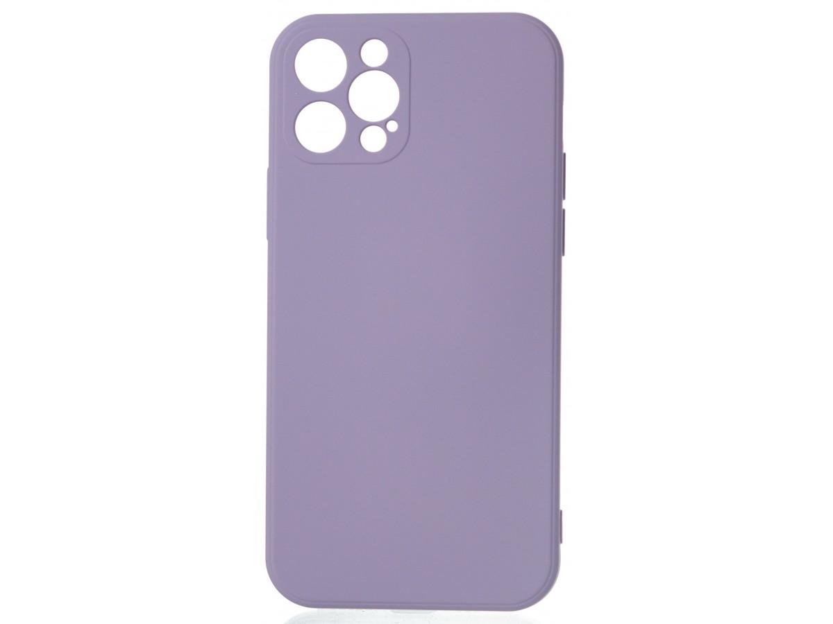 Чехол Soft-Touch для iPhone 12 Pro сиреневый в Тюмени