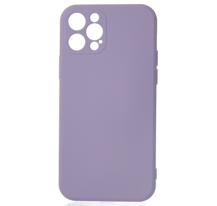 Чехол Soft-Touch для iPhone 12 Pro сиреневый