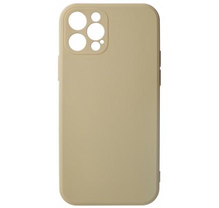 Чехол Soft-Touch для iPhone 12 Pro бежево-розовый