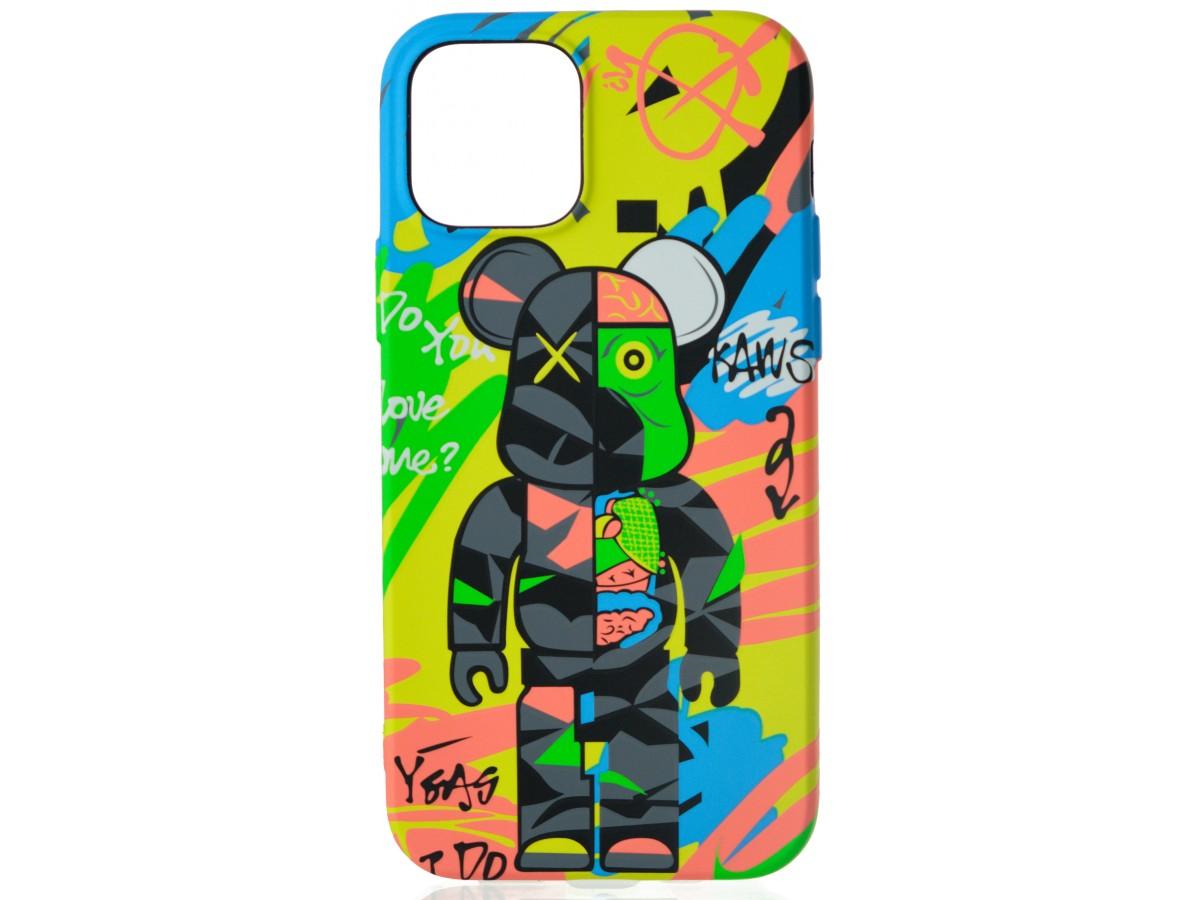 Чехол Luxo Toys для iPhone 12/12 Pro с принтом силиконовый (12) в Тюмени