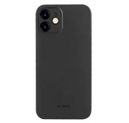 Чехол K-DOO Air Skin для iPhone 12 ультратонкий черный