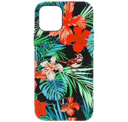 Чехол Luxo птицы для iPhone 12/12Pro с принтом силиконо...