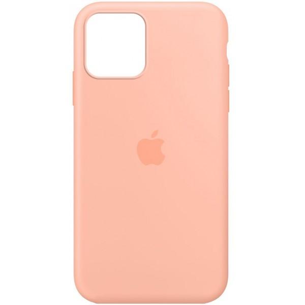 Чехол Silicone Case для iPhone 12/12 Pro персиковый