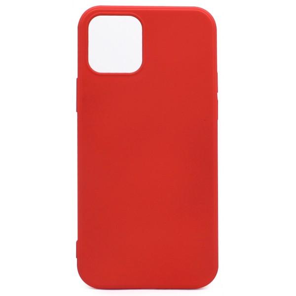 Чехол Soft-Touch для iPhone 12/12 Pro красный