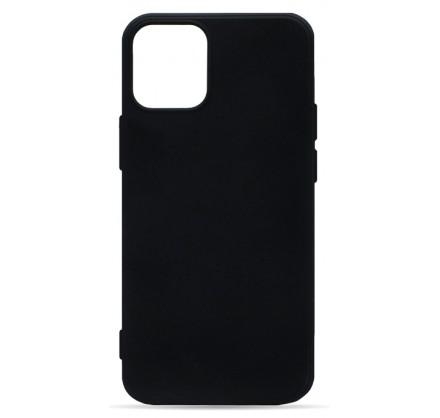 Чехол Soft-Touch для iPhone 12 Mini черный