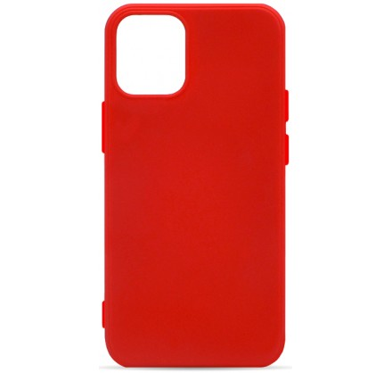 Чехол Soft-Touch для iPhone 12 Mini красный
