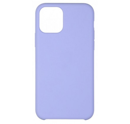 Чехол Soft-Touch для iPhone 12 Mini светло-голубой