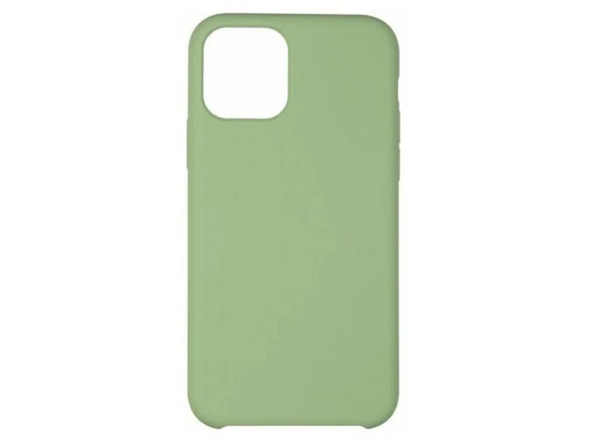 Чехол Soft-Touch для iPhone 12 Mini зеленый в Тюмени
