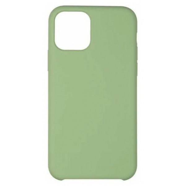 Чехол Soft-Touch для iPhone 12 Mini зеленый