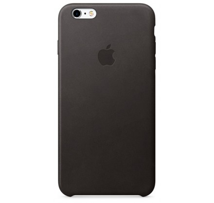 Чехол Leather Case для iPhone 6 Plus/6S Plus черный