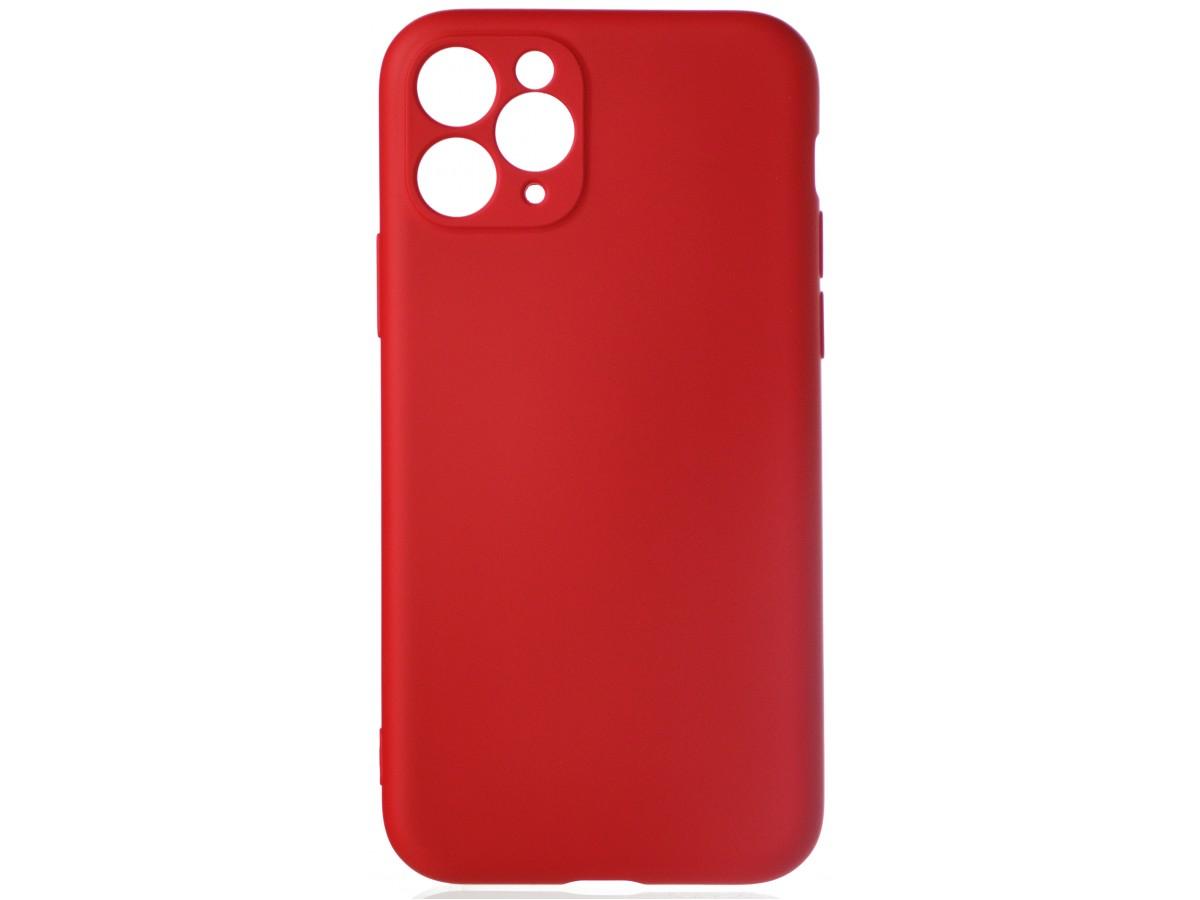 Чехол Soft-Touch для iPhone 11 Pro красный в Тюмени
