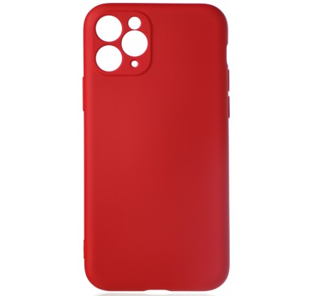 Чехол Soft-Touch для iPhone 11 Pro красный