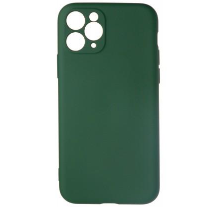 Чехол Soft-Touch для iPhone 11 Pro темно-зеленый