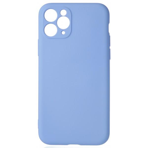 Чехол Soft-Touch для iPhone 11 Pro светло-голубой