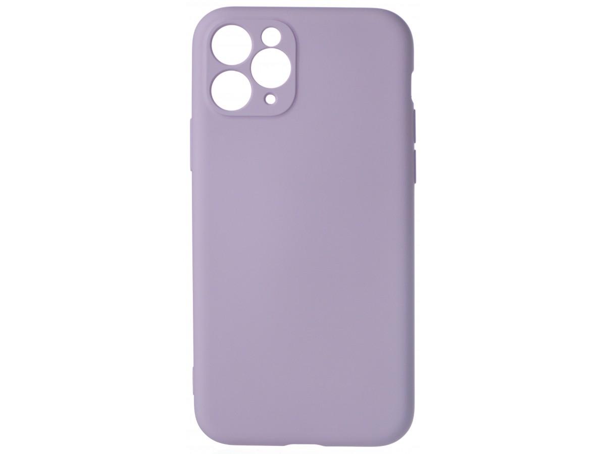 Чехол Soft-Touch для iPhone 11 Pro сиреневый в Тюмени