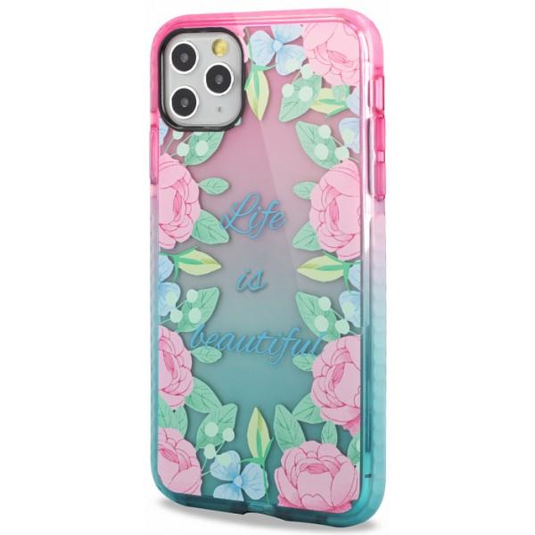 Чехол с бампером beautiful для iPhone 11 Pro с принтом силиконовый
