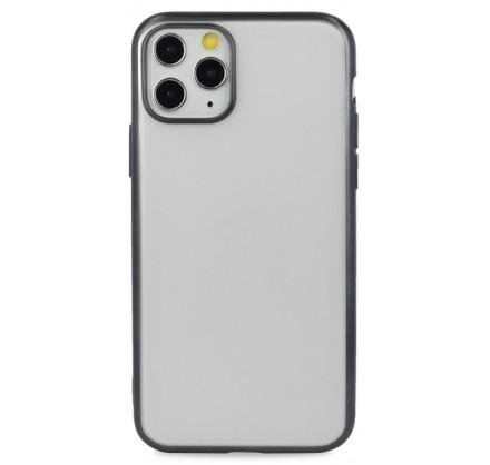 Чехол snazzy хром для iPhone 11 Pro матовый черный