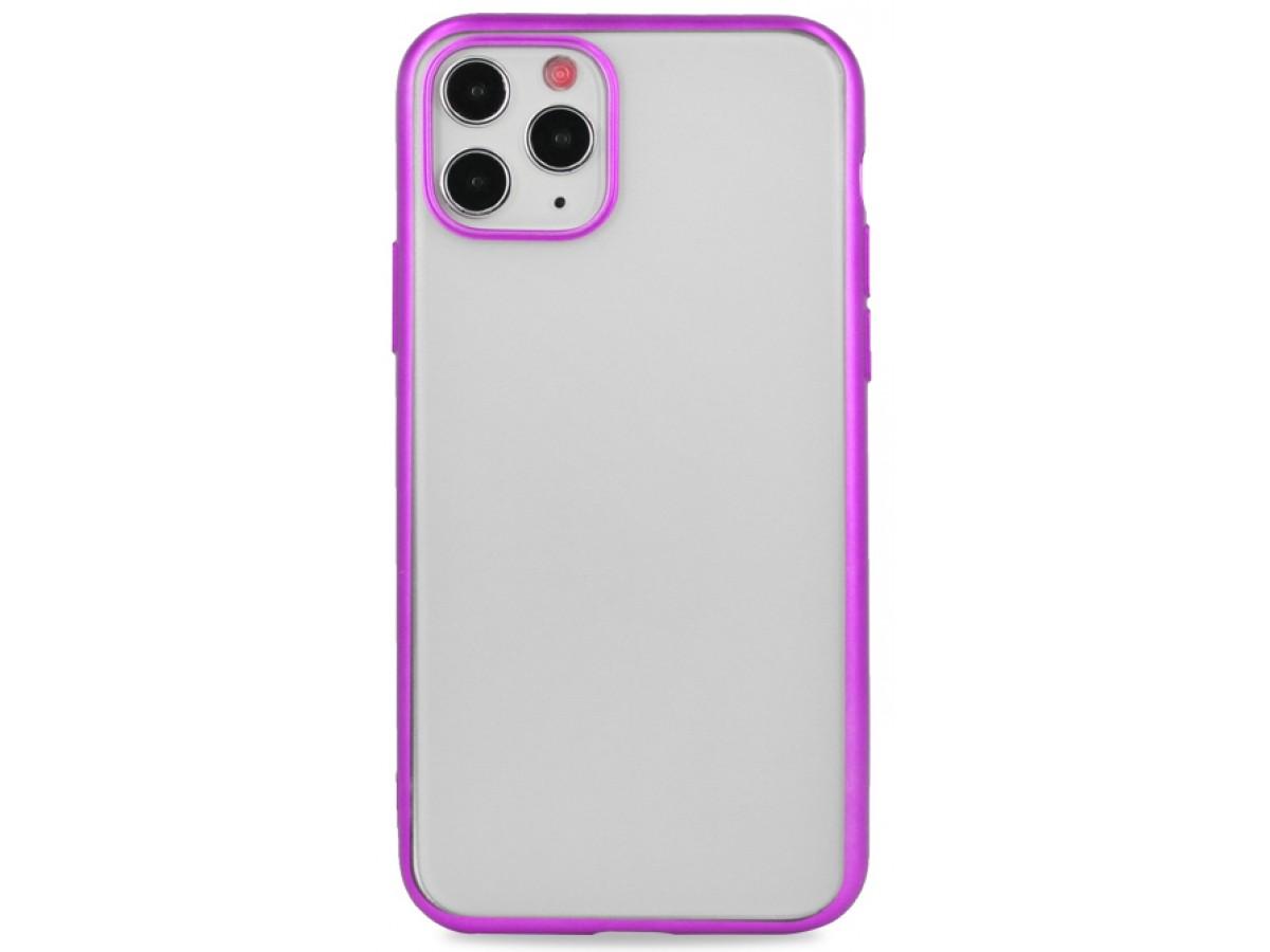 Чехол snazzy хром для iPhone 11 Pro матовый пурпурный в Тюмени