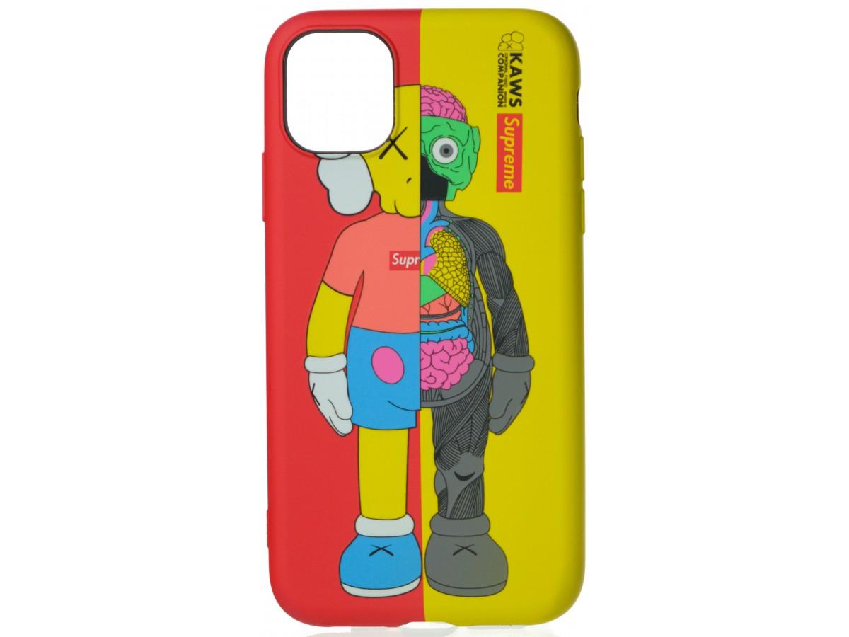 Чехол Luxo Toys для iPhone 11 с принтом силиконовый (2) в Тюмени