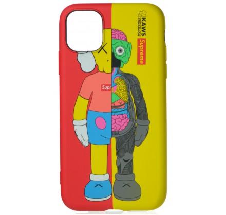 Чехол Luxo Toys для iPhone 11 с принтом силиконовый (2)