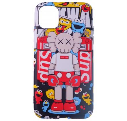 Чехол Luxo Toys для iPhone 11 c принтом силиконовый (9)
