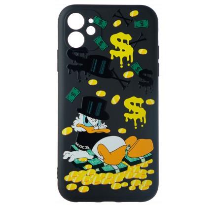 Чехол Fashn Donald для iPhone 12 с принтом силиконовый