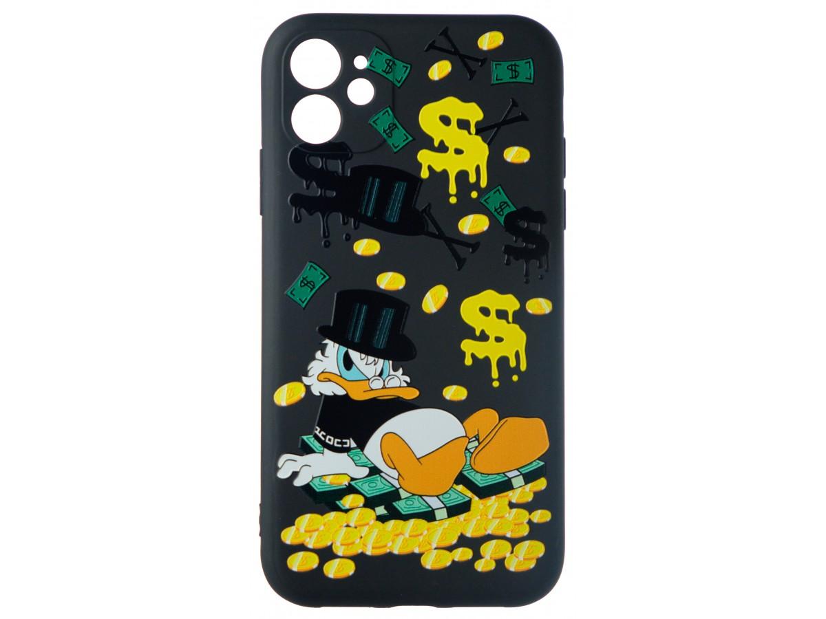 Чехол Fashn Donald для iPhone 11 с принтом силиконовый в Тюмени