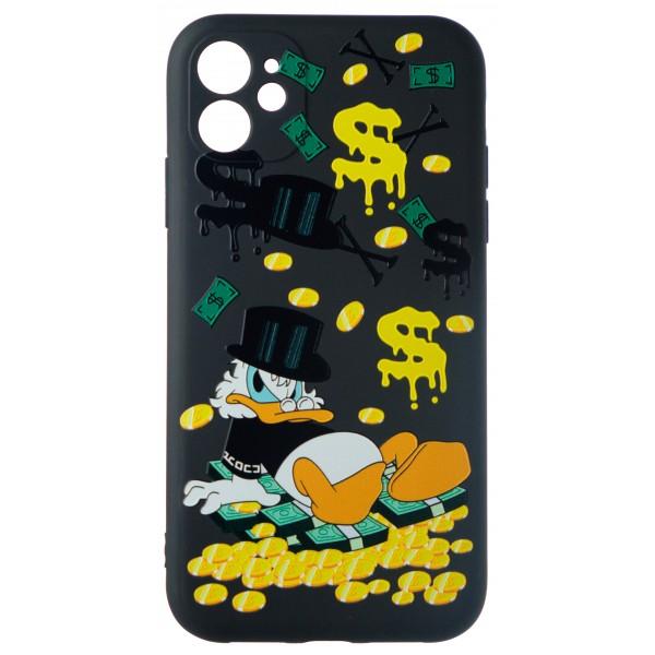Чехол Fashn Donald для iPhone 11 с принтом силиконовый