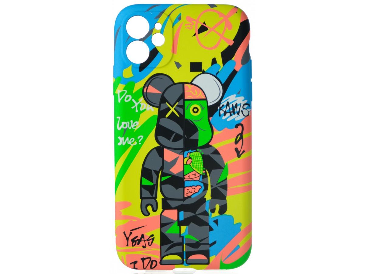 Чехол Luxo Toys для iPhone 11 c принтом силиконовый (12) в Тюмени